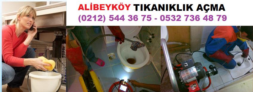 alibeyköy lavabo tıkanıklığı açma